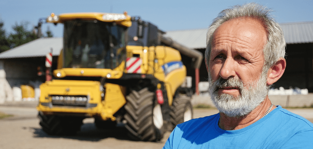 New Holland CR – rotorowy mocarz [WIDEO]